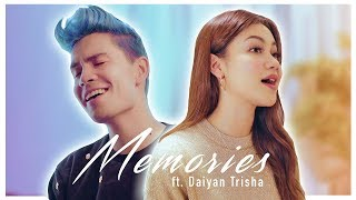 Gambar cover Memories (duet version) - Sam Tsui & Daiyan Trisha (Maroon 5 Cover)
