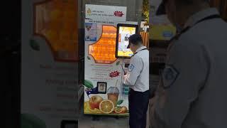 베트남 생 오렌지주스 자판기 vietnam orange…