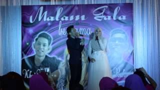 Siti Nordiana & Khai Bahar in Singapore Malam Gala @ Royal Palm Singapore.