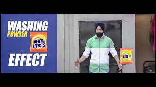 The Washing Powder Effect 😂😍 | After Effects VFX Tutorial | Raj Angad vines