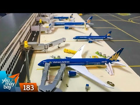 VLOG 183: Sân bay mô hình độc nhất Việt Nam   Máy bay tình yêu