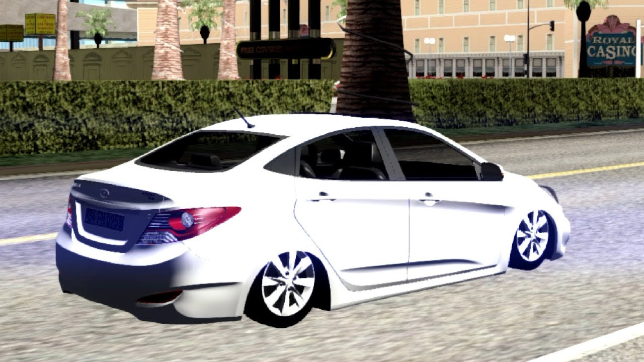 404 Hyundai Accent Blue New Car Gta San Andreas