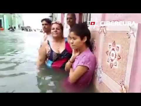 Habana: Dentro de las inundaciones provocadas por el huracán Irma
