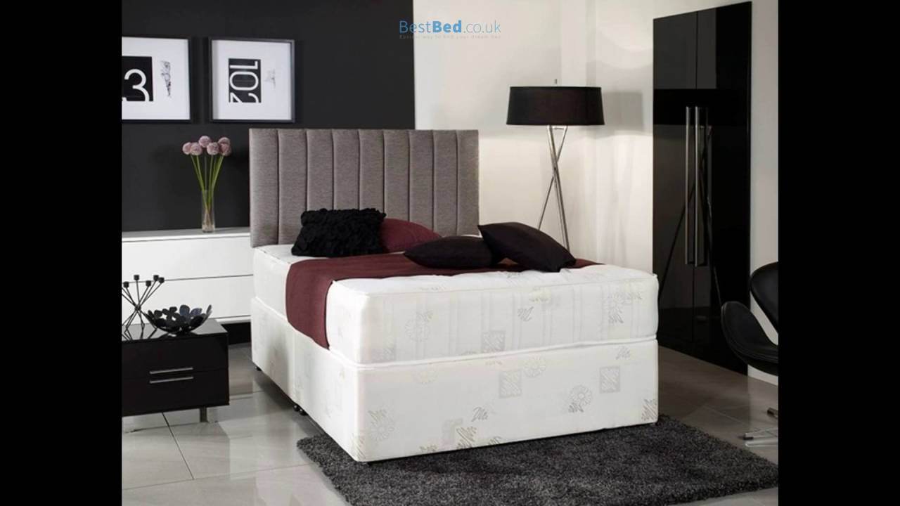 Windsor 4ft Small Double Divan Bed With Orthopaedic