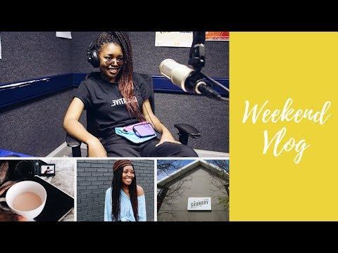 #Vlog : Radio / Fashion Show / Church | Amanda Klaas