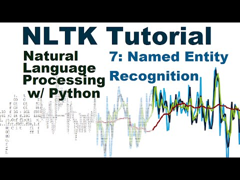 Named Entity Recognition - Natural Language Processing With Python and NLTK p.7