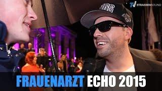 FRAUENARZT beim ECHO 2015 in Berlin: Neues Solo Album, Manny Marc - TV Strassensound