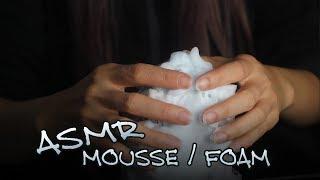 ASMR Sound of foam for relaxation, ljud av skum för avslappning (ASMR no Talking)