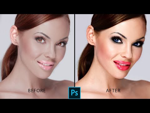 Makeup Photoshop Online  Photoshop Tutorials  Photo Retouch  Portiate Makeup thumbnail