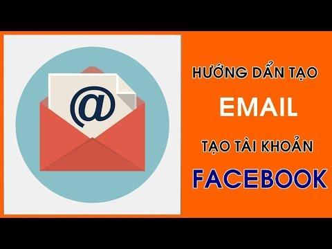cách tạo lập địa chỉ email để đăng ký tài khoản facebook