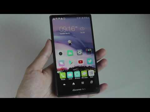 REVIEW: Sharp Aquos Zeta SH-04f - Ahead of It's Time?