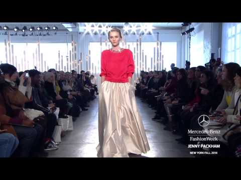 JENNY PACKHAM: MERCEDES-BENZ FASHION WEEK Fall 2014 COLLECTIONS