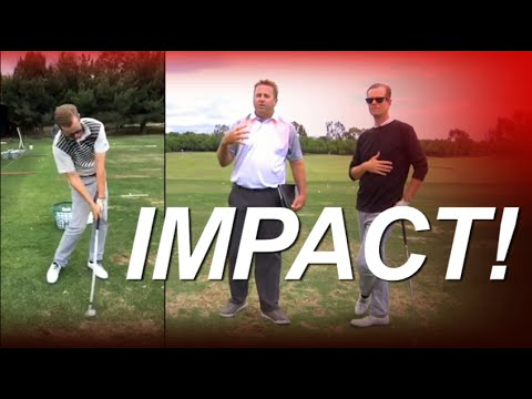 GOLF - HOW TO HIT YOUR IRONS STRAIGHT and LONG