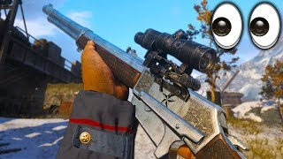 the NEW HEROIC LEVER ACTION is DIRTY.. 😷 (THE SHERIFF II) - COD WW2