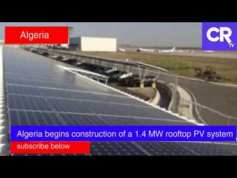 Algeria's airport solar project