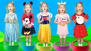 Five Princess Song nursery Rhymes for kids from Vitalina
