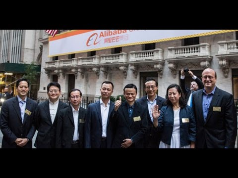 Alibaba IPO History: Opens Trading 36% Higher at $92.70