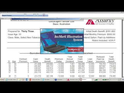 Cash Value Whole Life Part 3 - Webinar - 03/19/2014