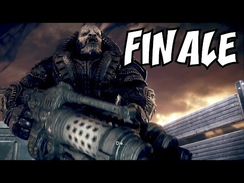 "GEARS OF WAR: ULTIMATE EDITION [FINALE] ★ ""BOSS BATTLE: General RAAM!"" Let's Play / Walkthrough"