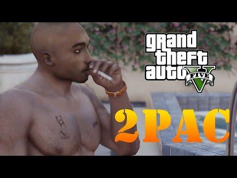 GTA 5 MOD - Tupac Shakur (2Pac)