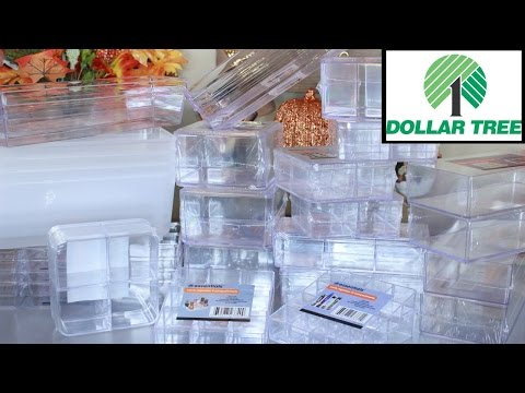 Huge Dollar Tree Acrylic Container Haul