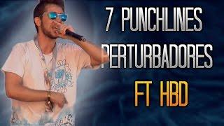 7 PUNCHLINES PERTURBADORES - Ep. 1 (ft. HBD - Detodoy Rap) - Tess La