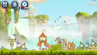 Играем в  angry birds star wars2 #2