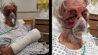 Pensioner brutally attacked after telling driver to slow down
