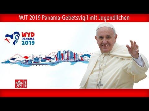 Papst Franziskus - Panama - Vigil mit Jugendlichen 27.01.2019