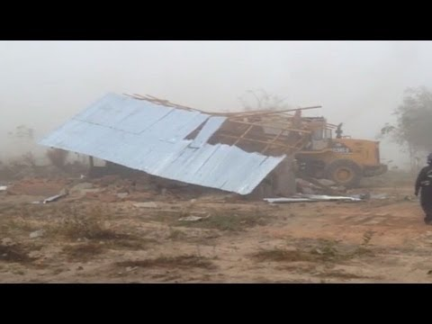 Settlers forcibly evicted in Hlegu township