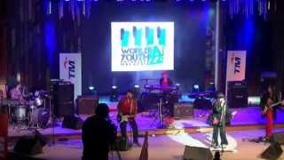 NINA VAN HORN at World Youth Jazz Festival 2013 in Kuala Lumpur - Malaysia