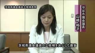 山﨑裕子(やまさきゆうこ) 守谷市議会から茨城県議会へ1/2 2012.12.03