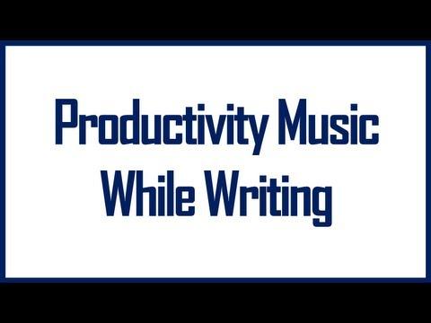 Study Music Insane Productivity | Music To Listen While Writing (AMAZING)