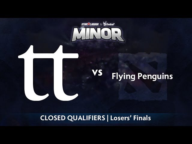 Team Team vs Flying Penguins Game 1 - StarLadder ImbaTV NA Qualifier: Losers' Finals