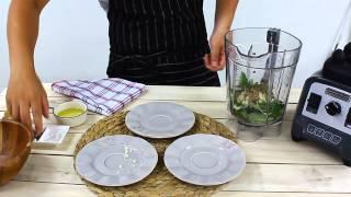 NISORO 餐廚使用 美國 Hamiltonbeach 調理機 製作【地中海油醋醬】示範影片