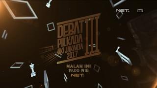 Video Debat III Pilkada DKI Jakarta 2017, Jumat 10 Februari LIVE 19.00 WIB. download MP3, 3GP, MP4, WEBM, AVI, FLV Mei 2017