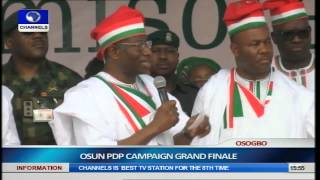 Jonathan, PDP Leaders Woo Osun Citizens Ahead Of Guber Election Pt.14