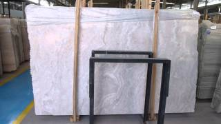 China White Serpegiante Marble Slab & Tile(Cross Cut)