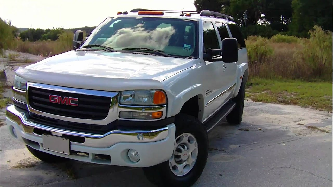 Duramax Yukon XL Qudrasteer by DuraBurb - YouTube