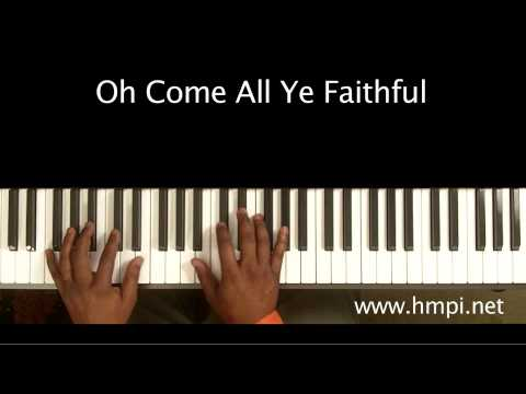 Oh Come All Ye Faithful - Free Piano Tutorial