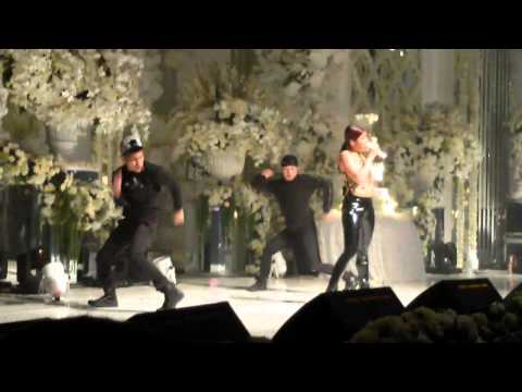 Hide and Seek - Agnez Mo at Private Wedding Surabaya 19092014 (video by @taufiknic )