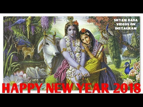 Happy New Year Krishna Image 8