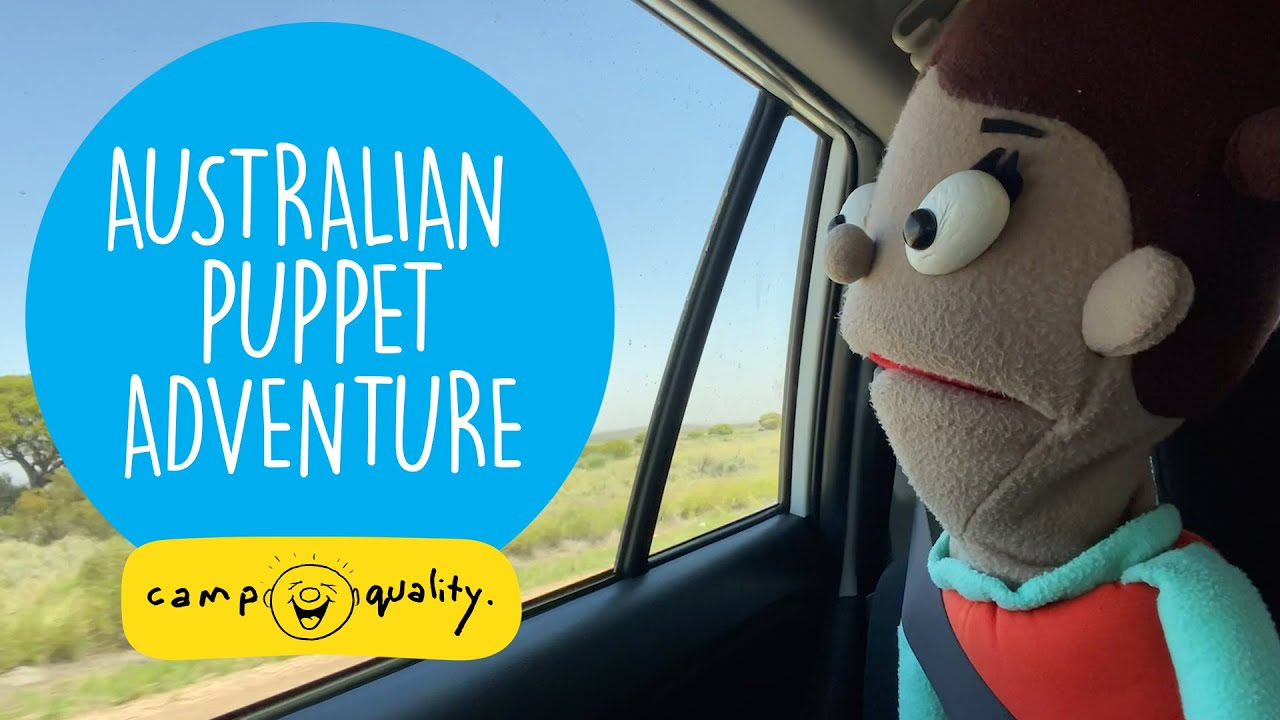 Exploring South Australia With The Camp Quality Puppets