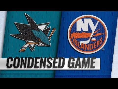 10/08/18 Condensed Game: Sharks @ Islanders