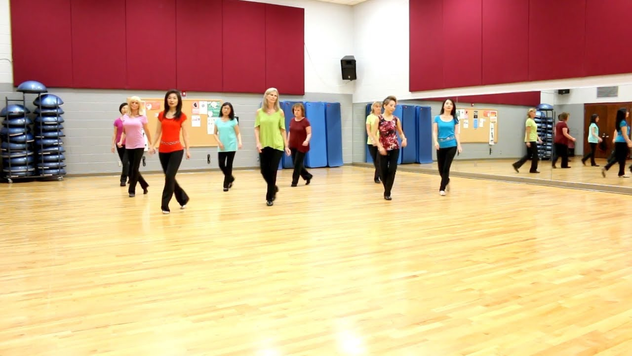 Bring It On Over - Line Dance (Dance & Teach in English & 中文) - YouTube