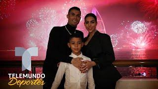 Hijo de Cristiano Ronaldo trolea a Georgina Rodríguez   Telemundo Deportes