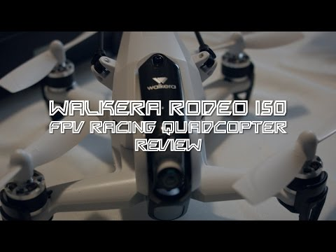Walkera Rodeo 150 Test / Review / Unboxing - auf deutsch - FPV Quadcopter von gearbest.com