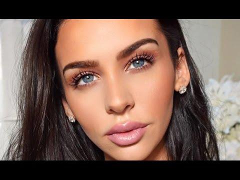 My Go To: DAYTIME FALL Mauve Makeup | Carli Bybel thumbnail