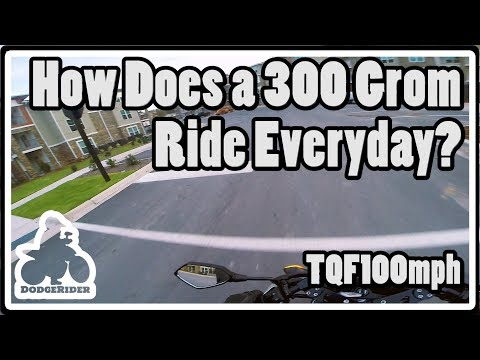 How Does a 300 Grom Ride Everyday? - The Quest for 100mph