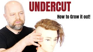 How to Grow out an Undercut - TheSalonGuy